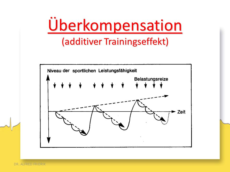 Überkompensation (additiver Trainingseffekt)