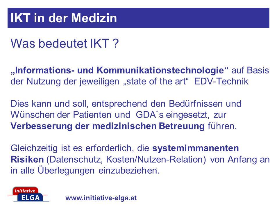 IKT in der Medizin Was bedeutet IKT