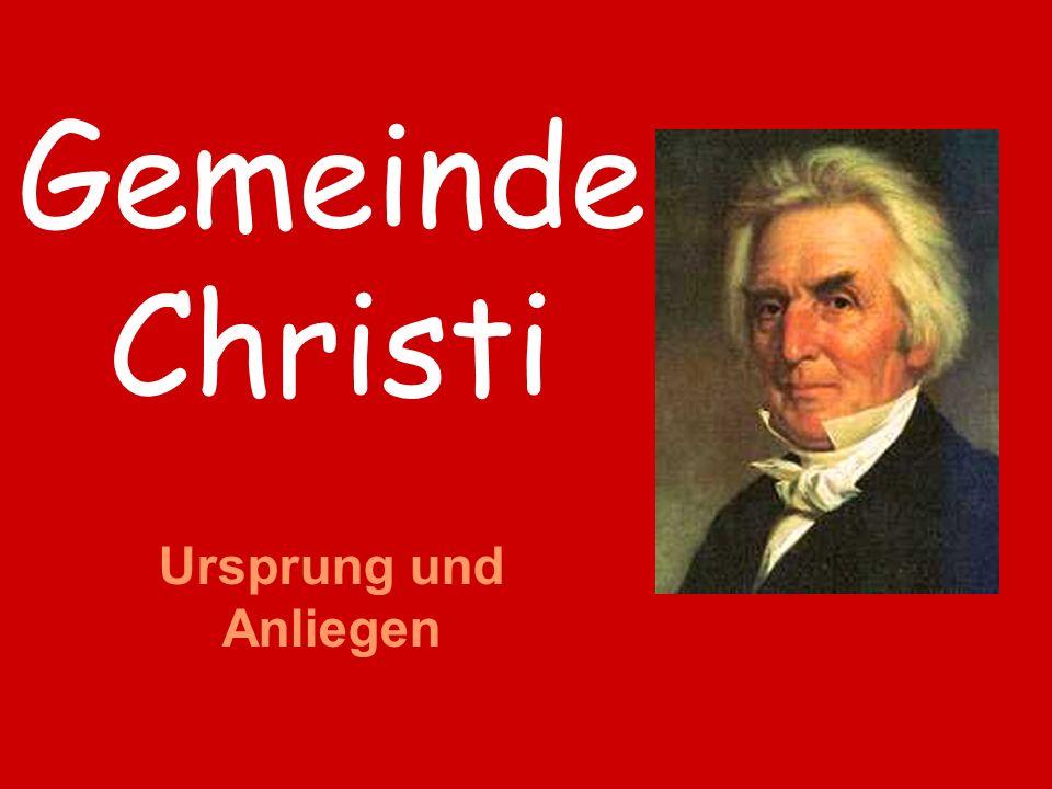 Gemeinde Christi Ursprung und Anliegen