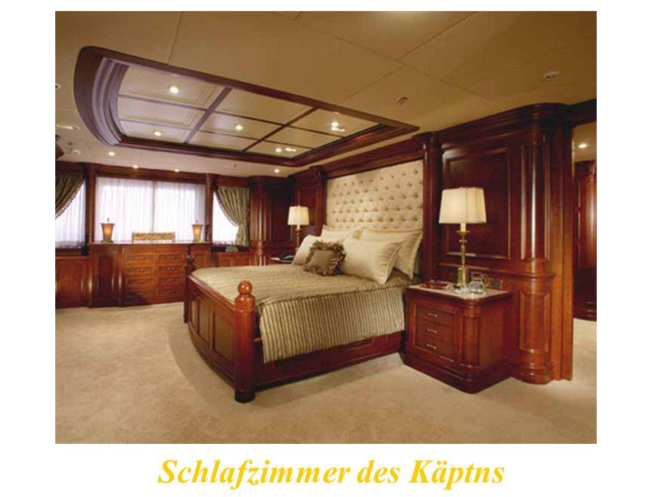 Schlafzimmer des Käptns