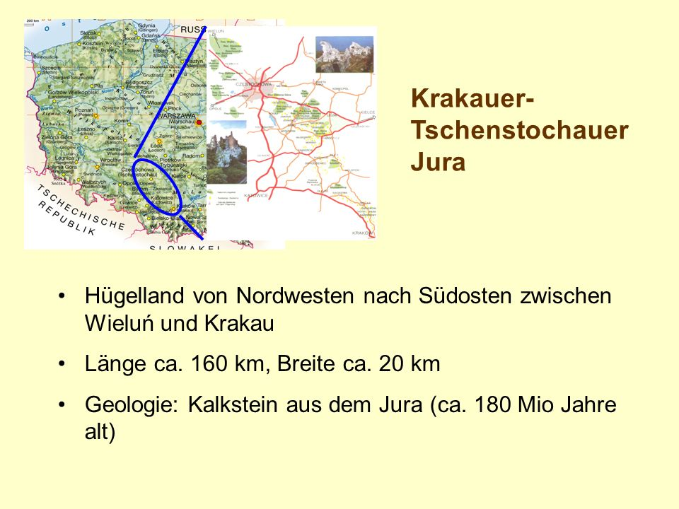 Krakauer-Tschenstochauer Jura
