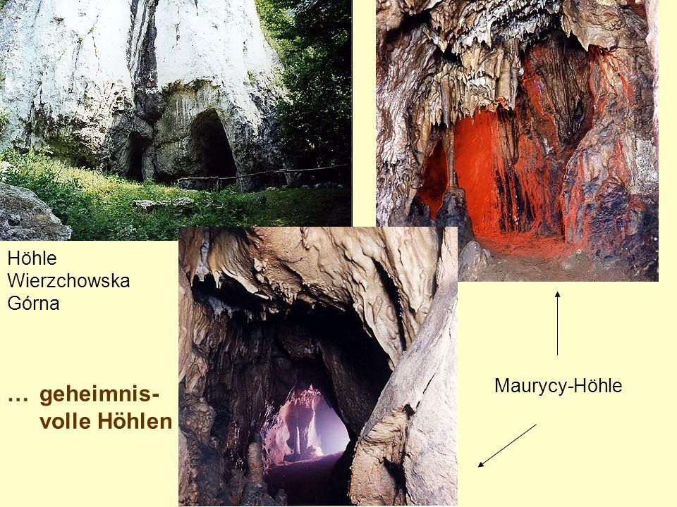 … geheimnis- volle Höhlen