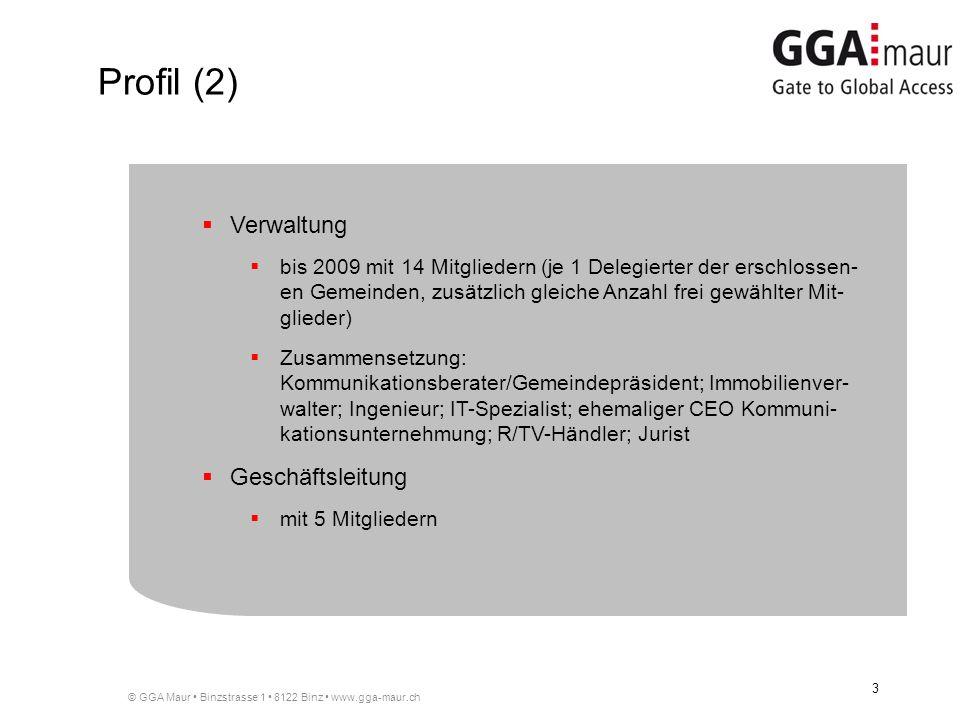 Profil (2) Verwaltung Geschäftsleitung