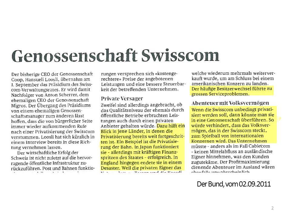 Der Bund, vom 02.09.2011