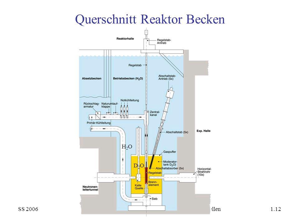 Querschnitt Reaktor Becken