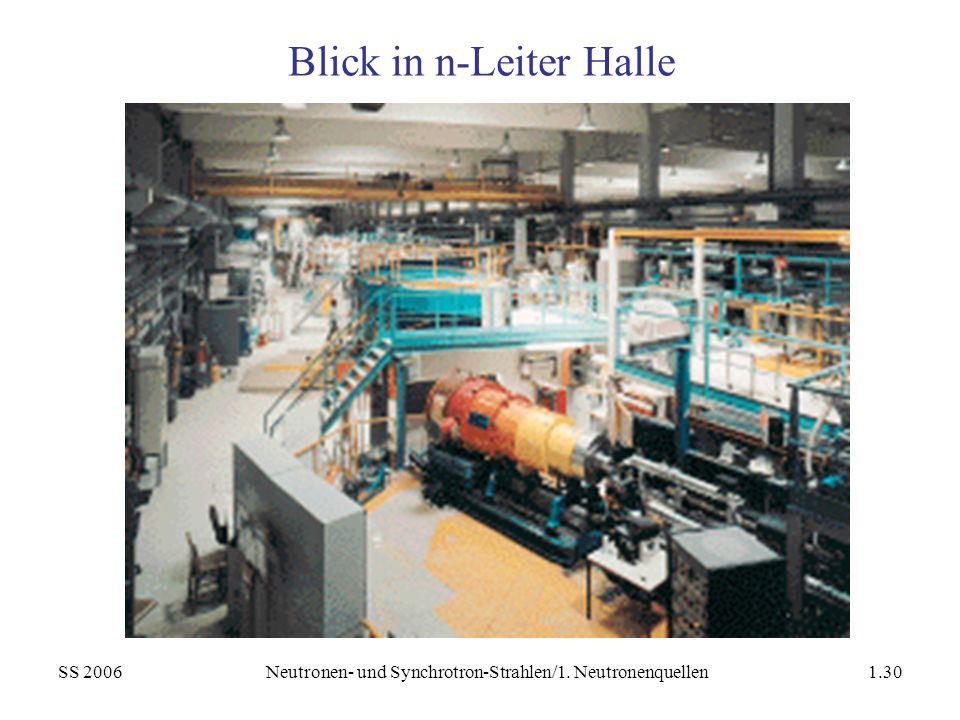 Blick in n-Leiter Halle