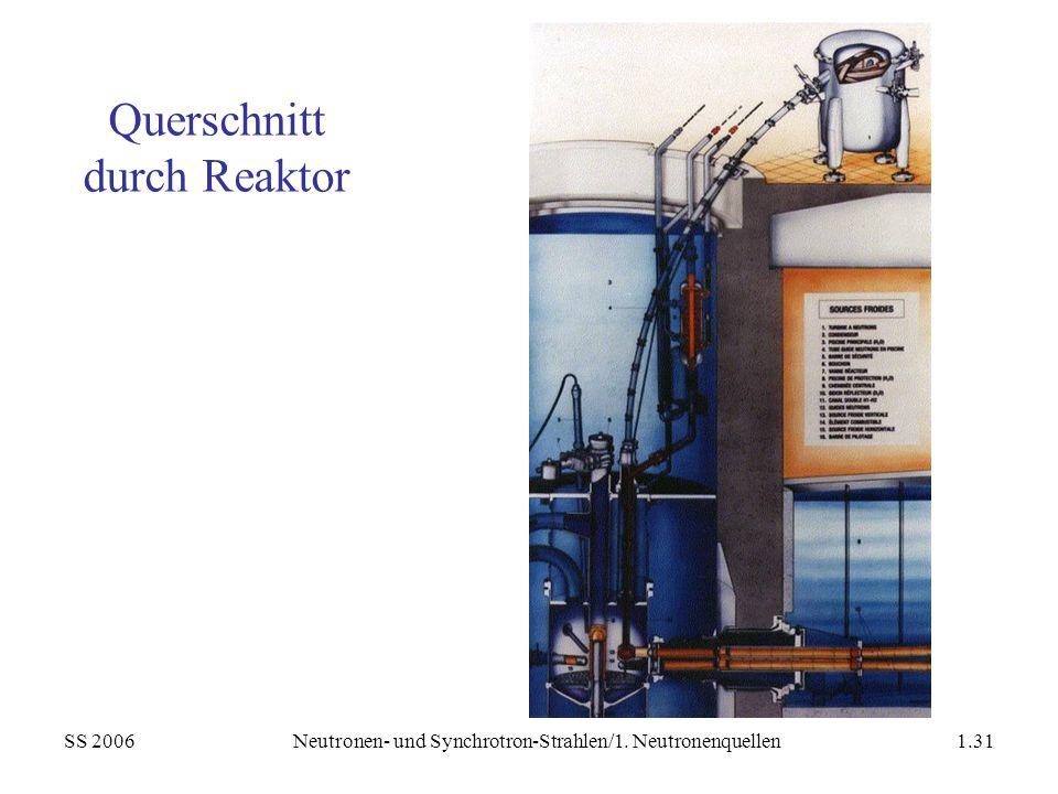 Querschnitt durch Reaktor