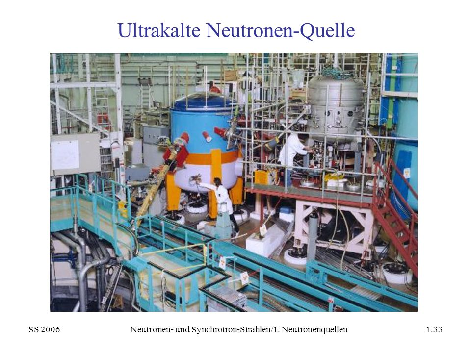 Ultrakalte Neutronen-Quelle