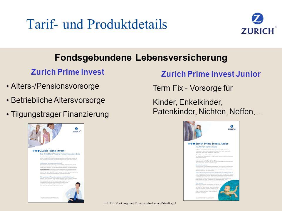 Tarif- und Produktdetails