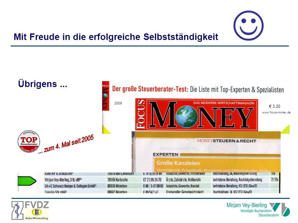  Mit Freude in die erfolgreiche Selbstständigkeit Übrigens ... € 3,20