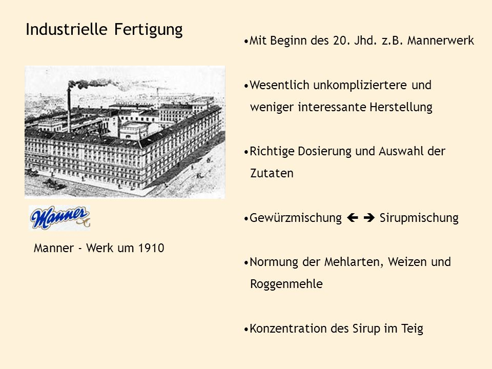 Industrielle Fertigung