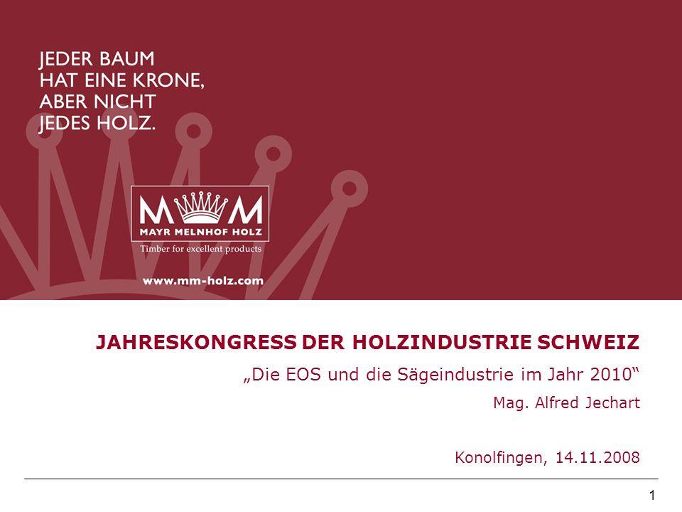 JAHRESKONGRESS DER HOLZINDUSTRIE SCHWEIZ
