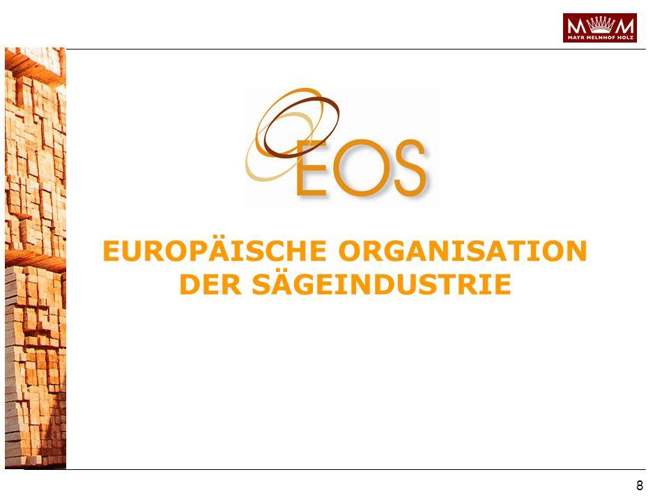 EUROPÄISCHE ORGANISATION DER SÄGEINDUSTRIE