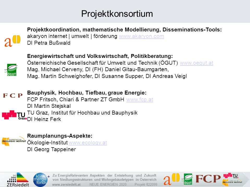 Projektkonsortium