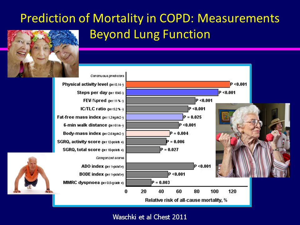 Prediction of Mortality in COPD: Measurements Beyond Lung Function