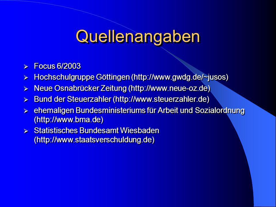 Quellenangaben Focus 6/2003