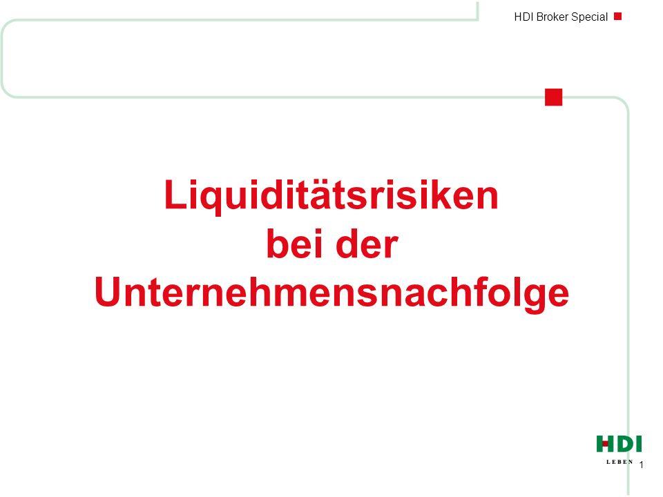 Liquiditätsrisiken bei der Unternehmensnachfolge