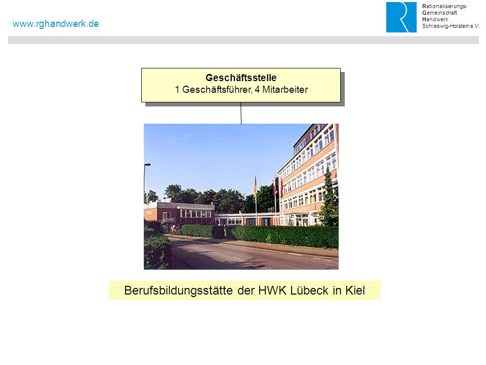 Berufsbildungsstätte der HWK Lübeck in Kiel