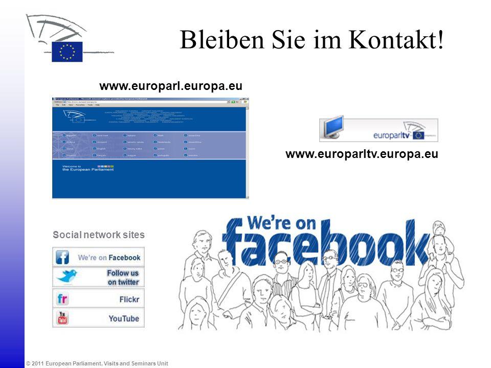 Bleiben Sie im Kontakt! www.europarl.europa.eu