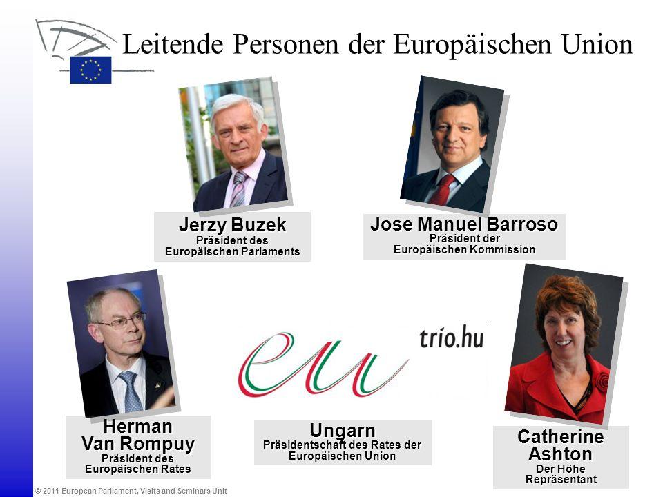 Leitende Personen der Europäischen Union