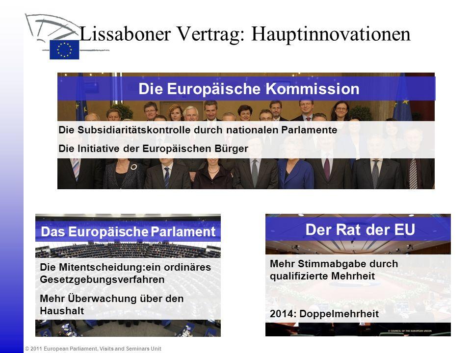 Lissaboner Vertrag: Hauptinnovationen
