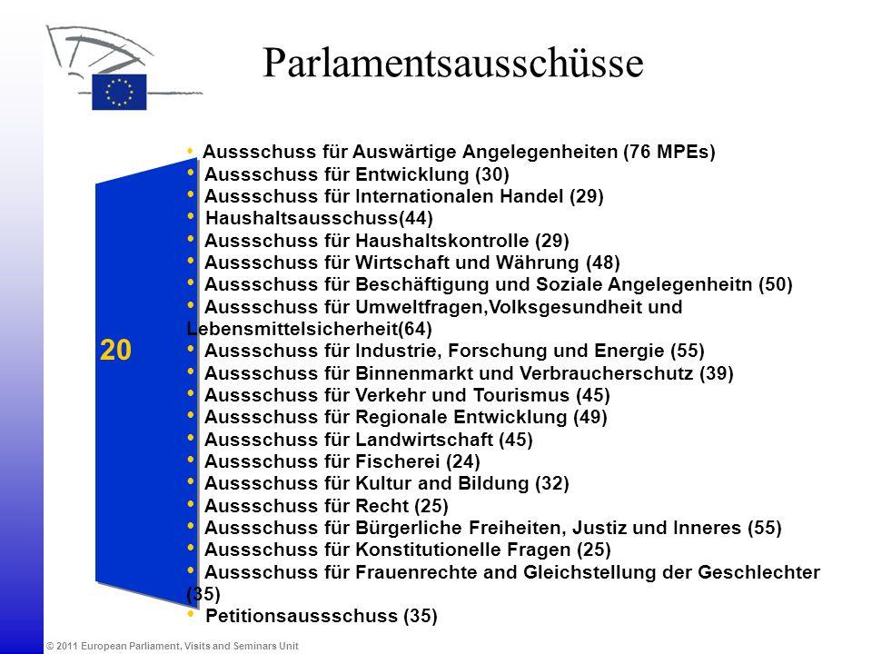 Parlamentsausschüsse