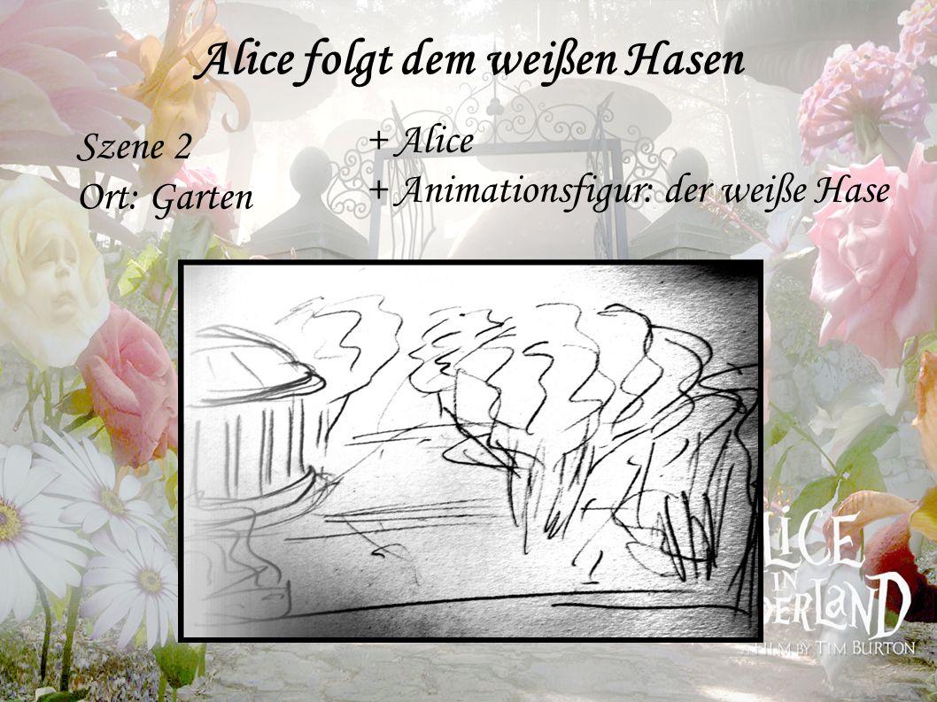 Alice folgt dem weißen Hasen