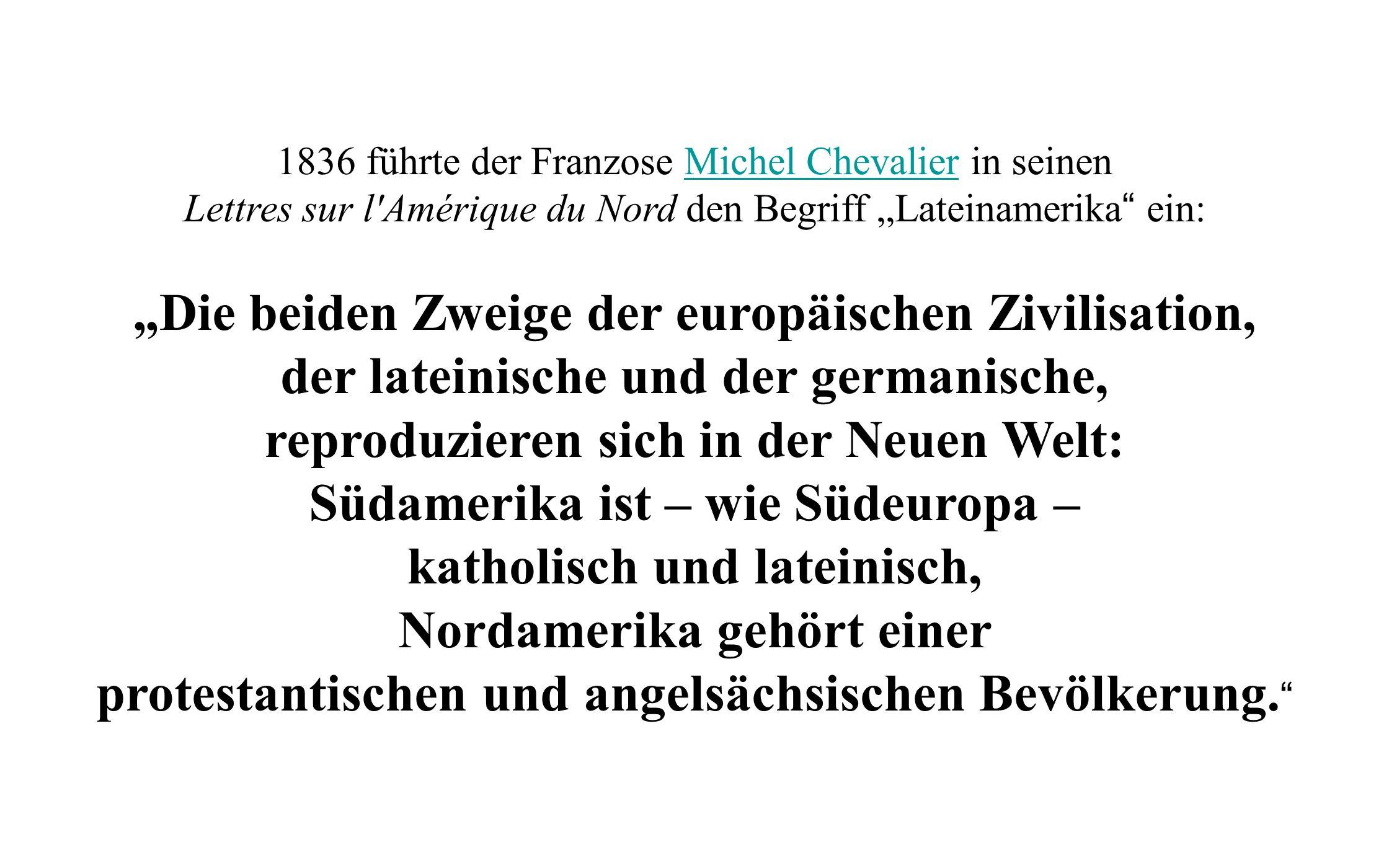 """""""Die beiden Zweige der europäischen Zivilisation,"""