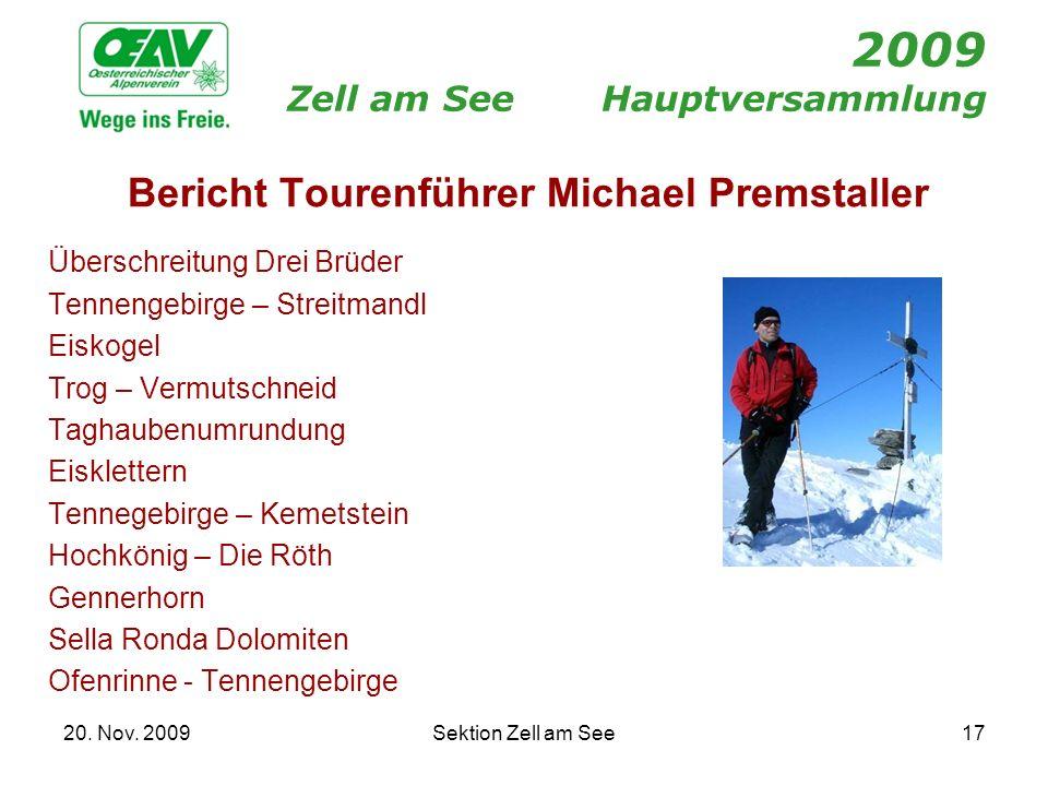 2009 Zell am See Hauptversammlung