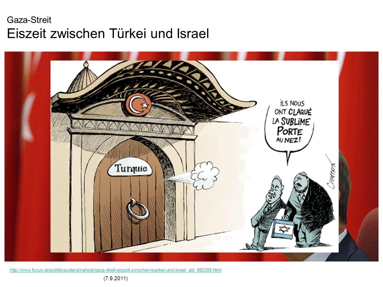Gaza-Streit Eiszeit zwischen Türkei und Israel