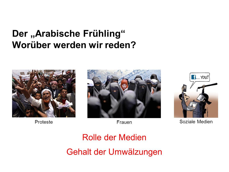 """Der """"Arabische Frühling Worüber werden wir reden"""