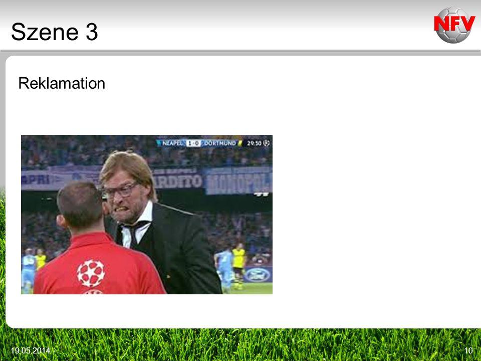 Szene 3 Reklamation Videoszenen: DFB-DVD vom 9.1.2010 31.03.2017