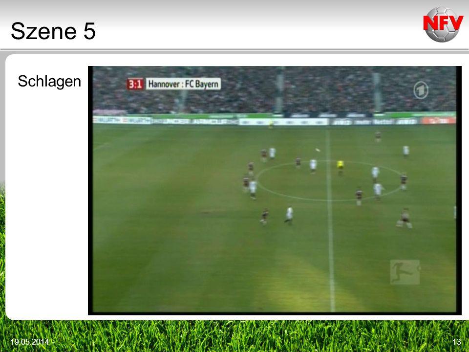 Szene 5 Schlagen Video r12_014 Videoszenen: DFB-DVD vom 9.1.2010