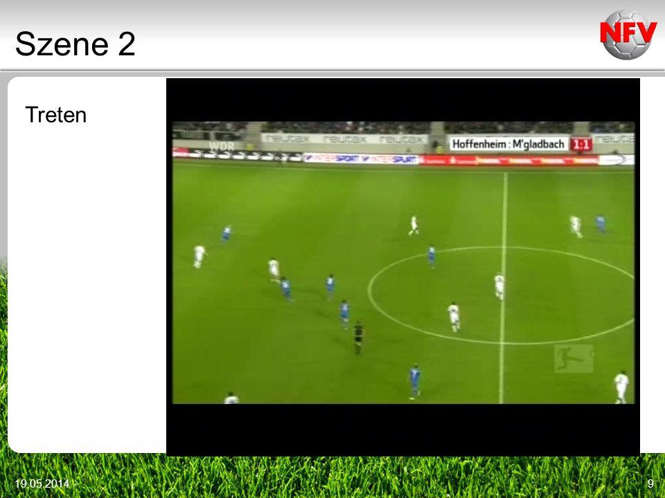 Szene 2 Treten Video r12_012 Videoszenen: DFB-DVD vom 9.1.2010