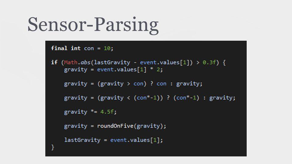 Sensor-Parsing