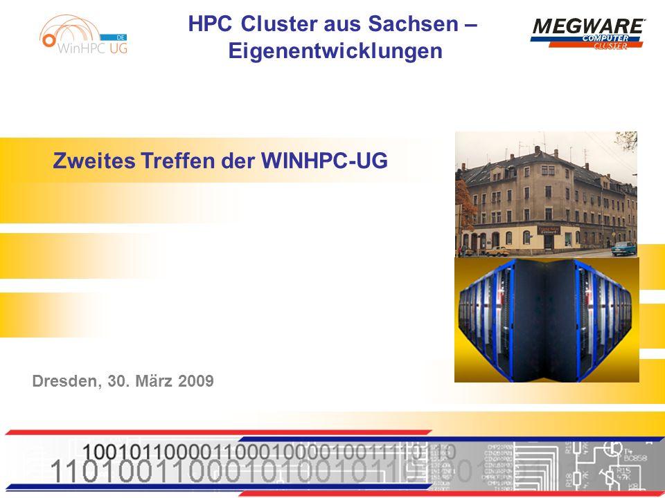 Zweites Treffen der WINHPC-UG