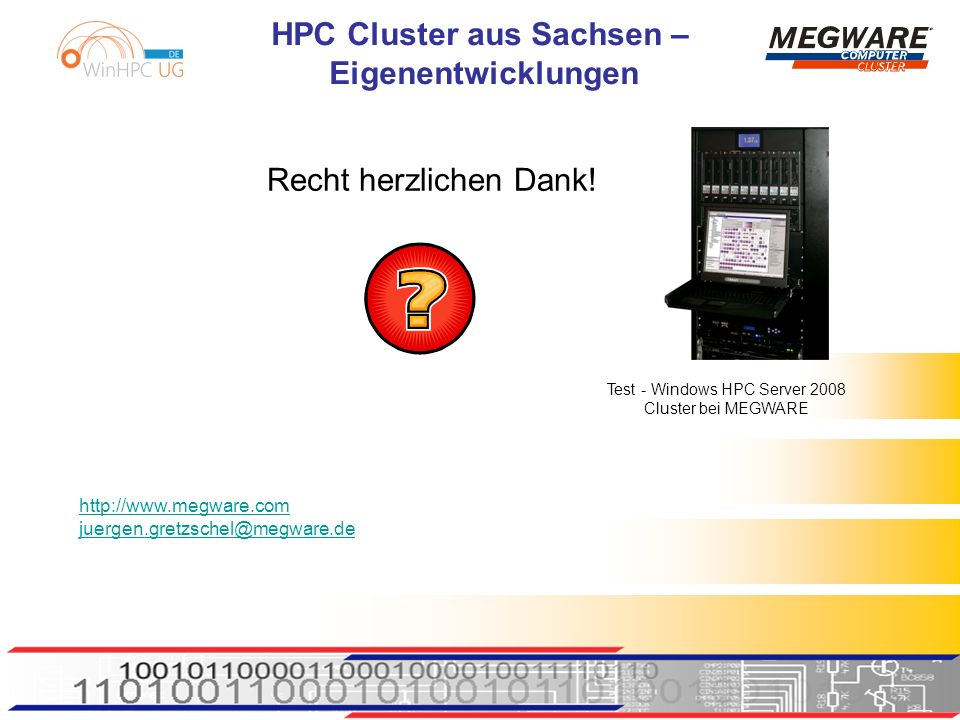 Test - Windows HPC Server 2008