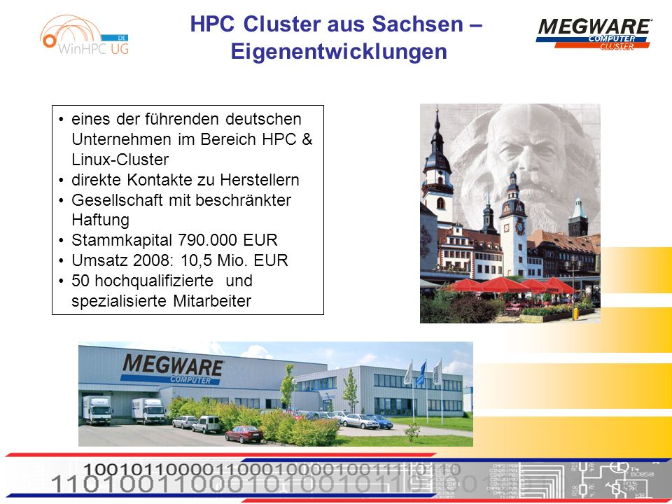 eines der führenden deutschen Unternehmen im Bereich HPC &