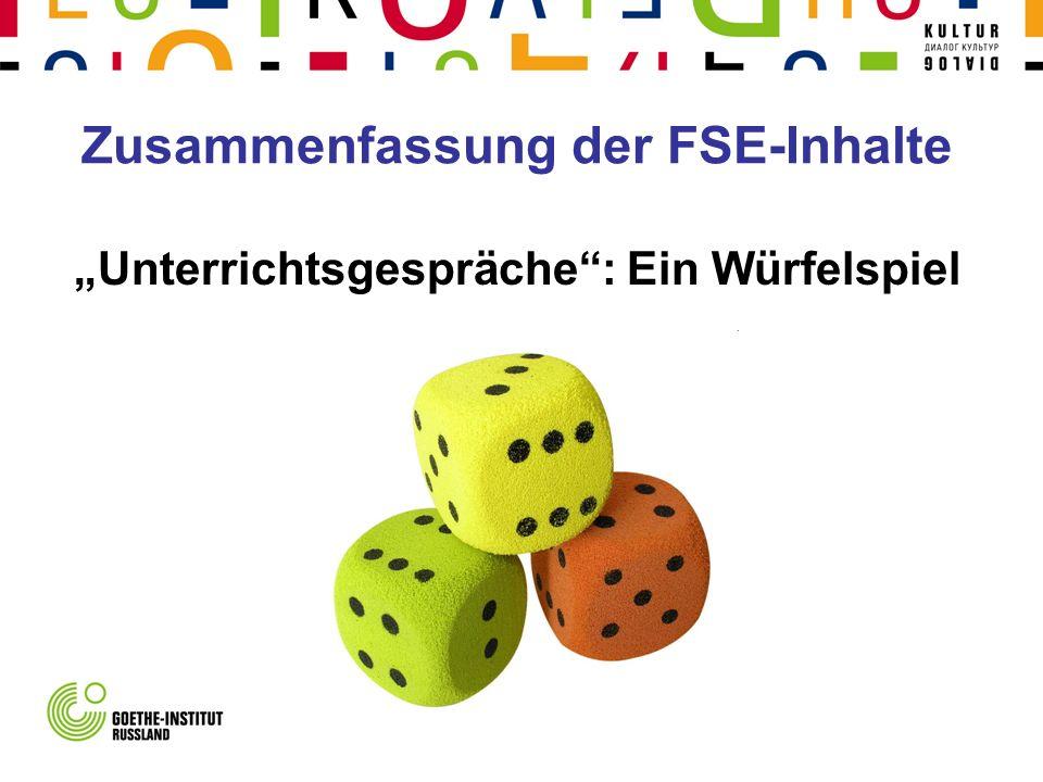 Zusammenfassung der FSE-Inhalte