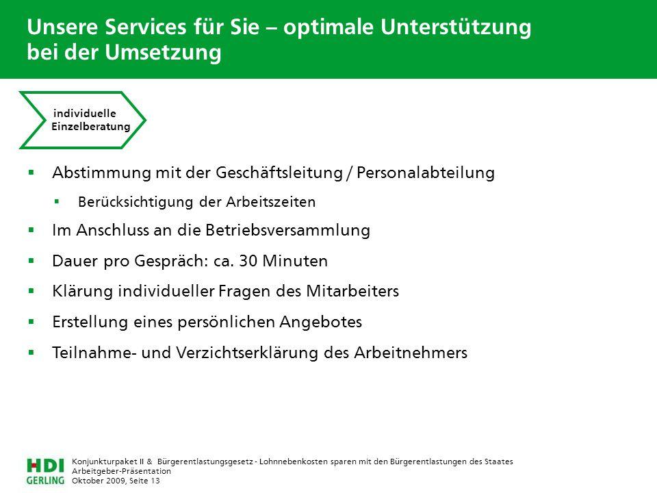 Unsere Services für Sie – optimale Unterstützung bei der Umsetzung
