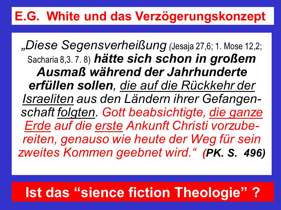 Ist das sience fiction Theologie