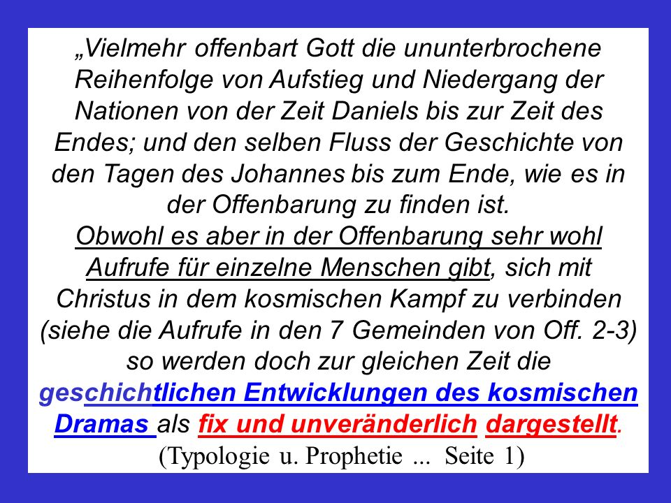 (Typologie u. Prophetie ... Seite 1)