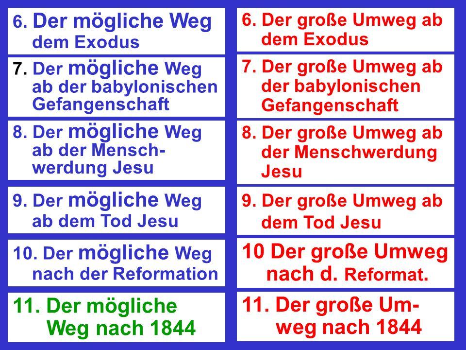 10 Der große Umweg nach d. Reformat.