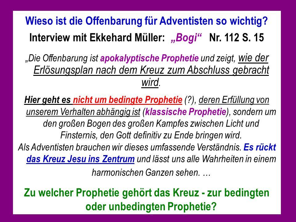 Wieso ist die Offenbarung für Adventisten so wichtig