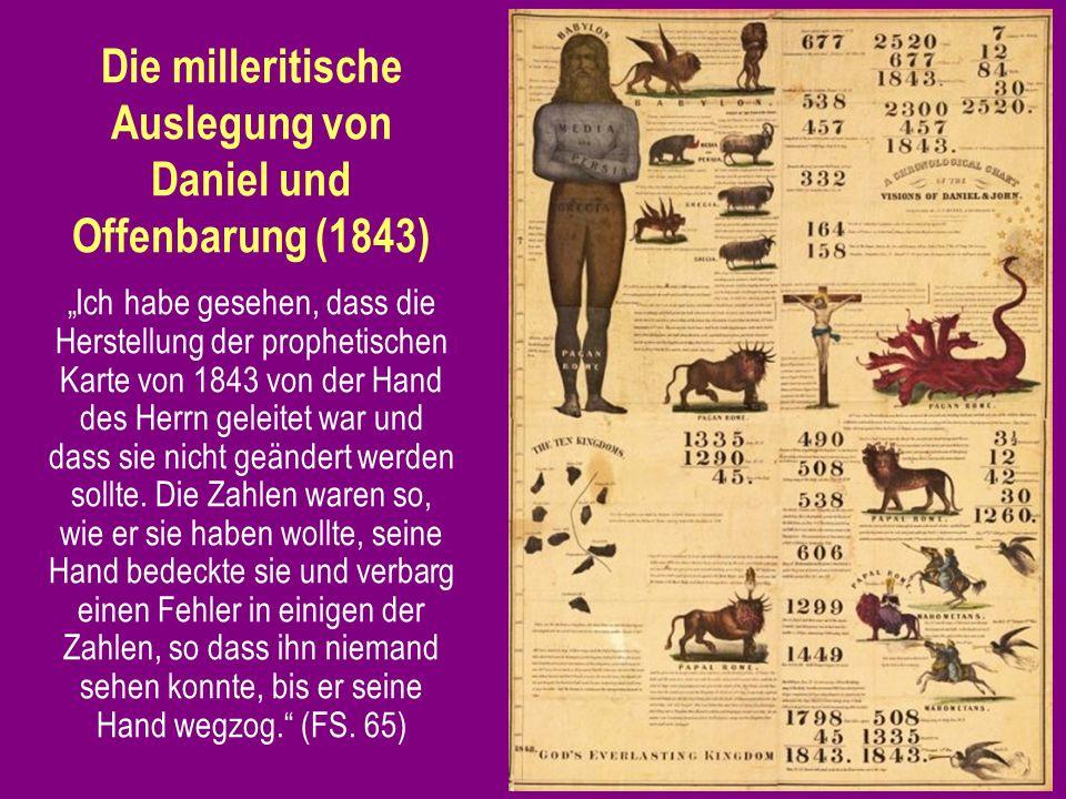 Die milleritische Auslegung von Daniel und Offenbarung (1843)