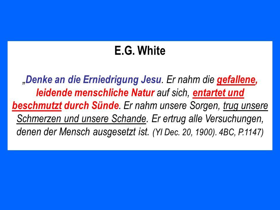 E.G. White