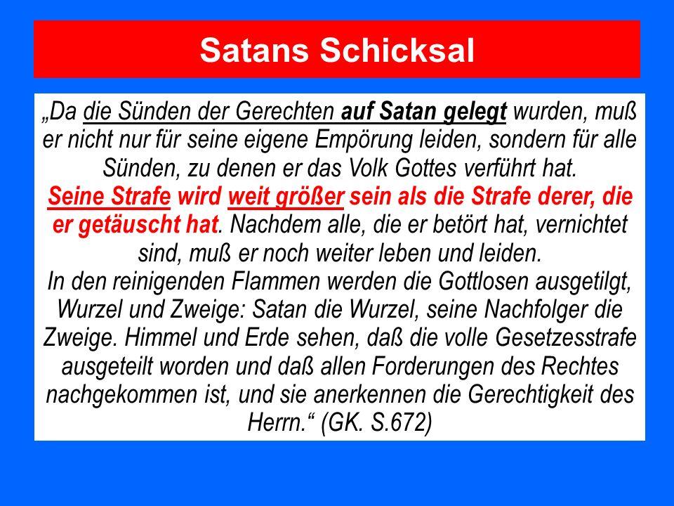 Satans Schicksal