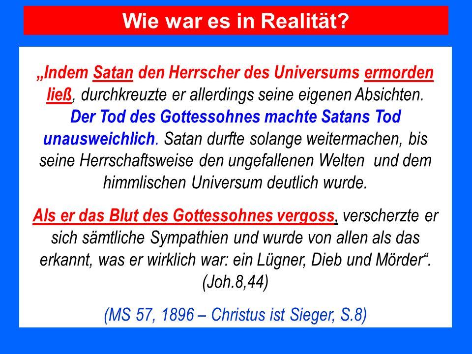(MS 57, 1896 – Christus ist Sieger, S.8)