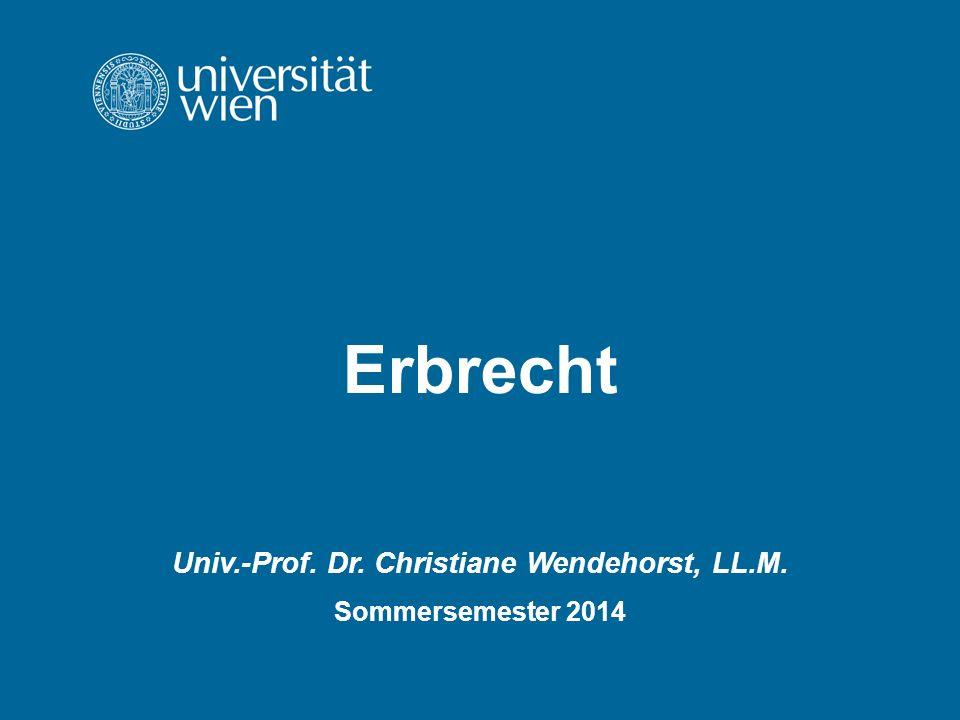 Univ.-Prof. Dr. Christiane Wendehorst, LL.M.