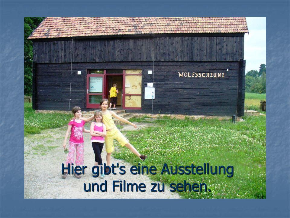 Hier gibt s eine Ausstellung und Filme zu sehen.